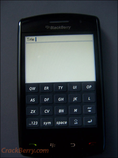 Blackberry Thunder