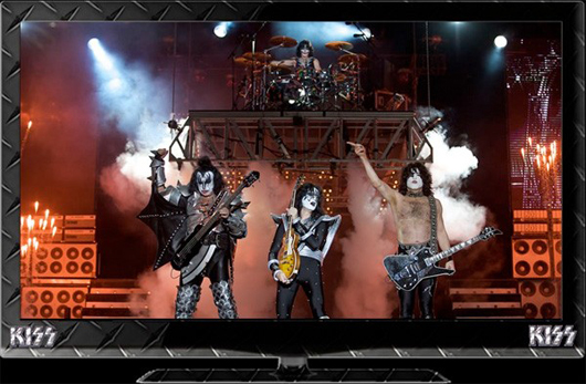 HDTV LED oficial de ¿KISS?