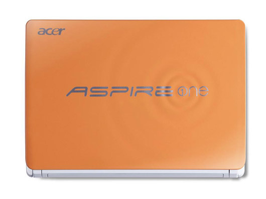 Acer renueva el color de los Aspire One Happy