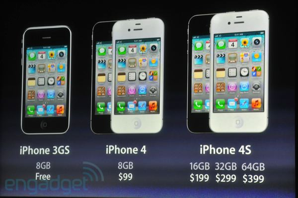 Apple presenta su iPhone 4S