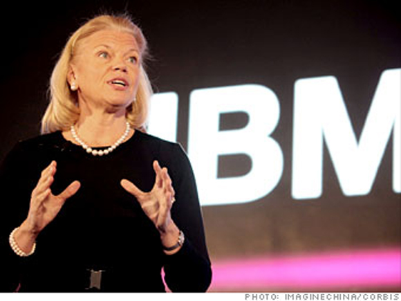 Virginia Rometty, la nueva CEO de IBM