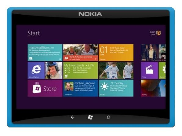 Reaparece la tablet Nokia con Windows 8