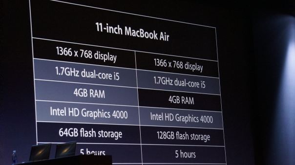 Las Macbook actualizan hardware
