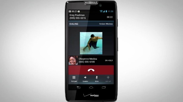 Droiz Razr HD aparece en video