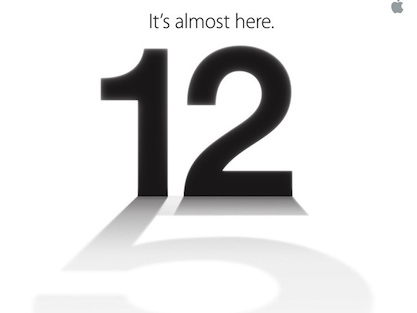 Apple prepara un evento para el 12/9