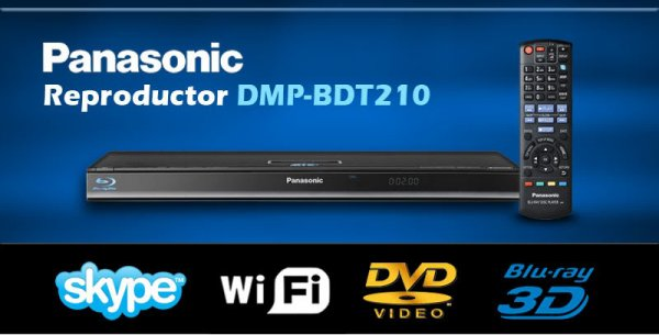 Las interfaces del reproductor DMP BDT210