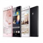 Huawei Ascend P6, oficial