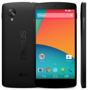 Nexus 5 ya se deja ver en Google Play