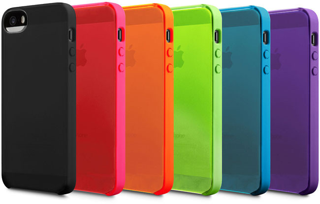 Todo el color de Incase para los iPhone 5S