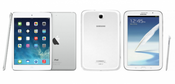 Comparativa: iPad Mini Retina vs Galaxy Note 8.0 (1/2)