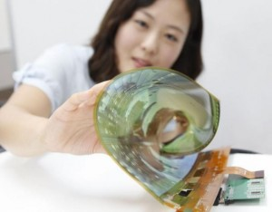 LG y su nuevo panel  OLED flexible